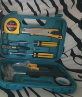 Used New handy toold set with storage box in Dubai, UAE