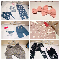 Bundle of 6 baby sets size 6-9/9-12m