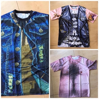 Used 3 T-shirts size L for men  in Dubai, UAE