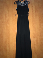 Used Black jeweled dress in Dubai, UAE
