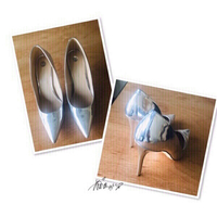 Used River IsLand heels size 40 💙 in Dubai, UAE