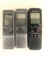 Used Sony Voice recorders 3 pcs in Dubai, UAE