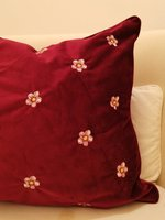 Used New Floral cushion cover 45x45 in Dubai, UAE