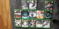 Used Xbox one video game collection in Dubai, UAE