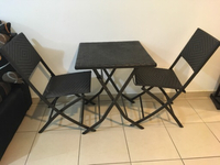 Used Table with couple of chairs in Dubai, UAE