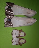 Used Mother and Baby Girl Melissa Shoes in Dubai, UAE