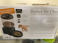 Used Automatic Pet Feeder (Battery Operated)  in Dubai, UAE