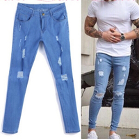 Used Denim stretch jeans size M in Dubai, UAE