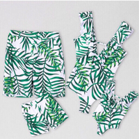 Used Green leaf family swimsuits  in Dubai, UAE