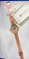 Used Curren Floral mesh strap watch in Dubai, UAE