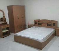 Used Bed with madical mattress, in Dubai, UAE