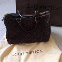 Louis Vuitton Mini Lin Speedy 30 Bag. 100% Authentic. Gently Used.