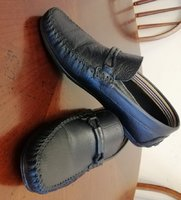 Used Black leather turkey shoes in Dubai, UAE
