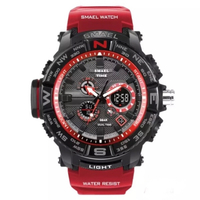Used men sport watch red color  in Dubai, UAE