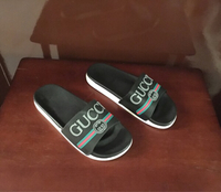 Used Gucci slippers size 38, brand new in Dubai, UAE