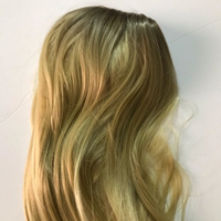 Used Golden hair wig (new) 22 inch in Dubai, UAE