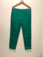 Used NEW LACOSTE Pants Slim Fit US 33 Green in Dubai, UAE