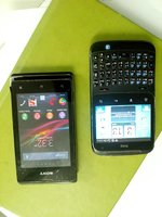 Used 2 mobiles sony & htc working condition in Dubai, UAE