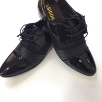 Black lace-up shoes EU48 for men