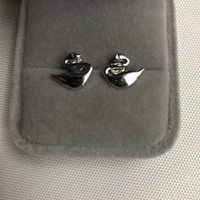 Used 925 silver swan design earrings in Dubai, UAE