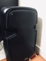 Used Karaoke speaker Bluetooth with microp  in Dubai, UAE