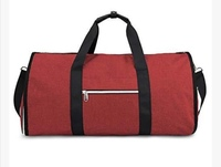 Used Foldable business travel bag red color in Dubai, UAE