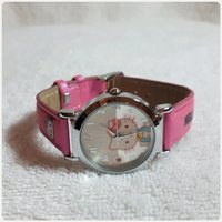 Pink hello kitty watch for girl