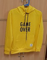 Used GAME OVER letter patchwork pocket (M) ! in Dubai, UAE