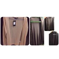 Brand new #Gold#Cardigan with 3 preloved cardigans. Used hardly.
