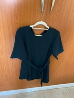 Used Zara green top in Dubai, UAE