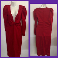 Used RED FORMAL DRESS/ Small  in Dubai, UAE