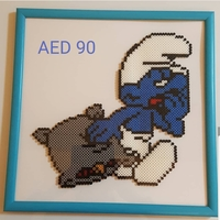 Used Smurf portrait in Dubai, UAE