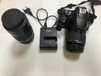Used Canon 1300d +lens 18-55 and 75-300 in Dubai, UAE