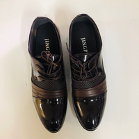 Used Jingpin Brown Tie Up Shoe | Size 44 in Dubai, UAE