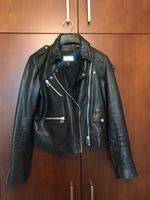 Used Mango leather jacket in Dubai, UAE