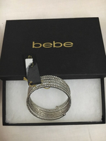 Original Bebe Bangle with studs /stones
