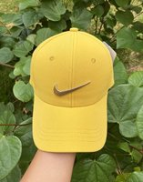 Used Nike yellow check cap in Dubai, UAE