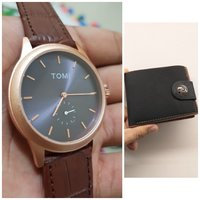 Used Original TOMI Watch° 🆓️ Leather Wallet in Dubai, UAE