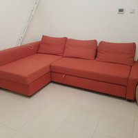 Used Pull-out sofa with storage in Dubai, UAE