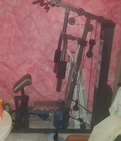 Used Gym machine  work out still new not used in Dubai, UAE