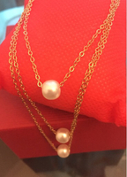 Used Necklace 3 in 1 pearl new ! in Dubai, UAE