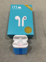 Used New original TWS i11 airpods 2 pcs  in Dubai, UAE
