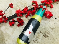 Used Handpainted Bottle- Anniversary Gift  in Dubai, UAE