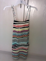 Used Beach dress colorful with X in the back in Dubai, UAE