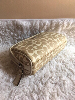 Authentic Coach Makeup Bag