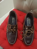 Used ORIGINAL TIMBERLAND LEATHER SHOES.SIZE40 in Dubai, UAE