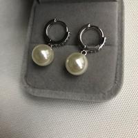 Used 925 silver  pearl design earrings  in Dubai, UAE
