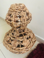 Used Stylish Woven Vase  in Dubai, UAE