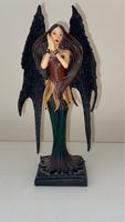 Used Gothic Vampire Angel Statue. in Dubai, UAE
