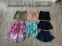 Used Bundle skirts size 8/9 years old  in Dubai, UAE
